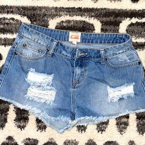Giana Bini jean shorts